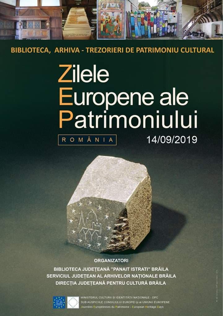 Poster - Zilele Europene ale Patrimoniului