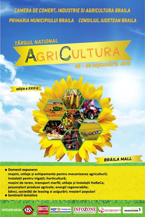 """Poster - Târgul Național """"AgriCultura"""""""