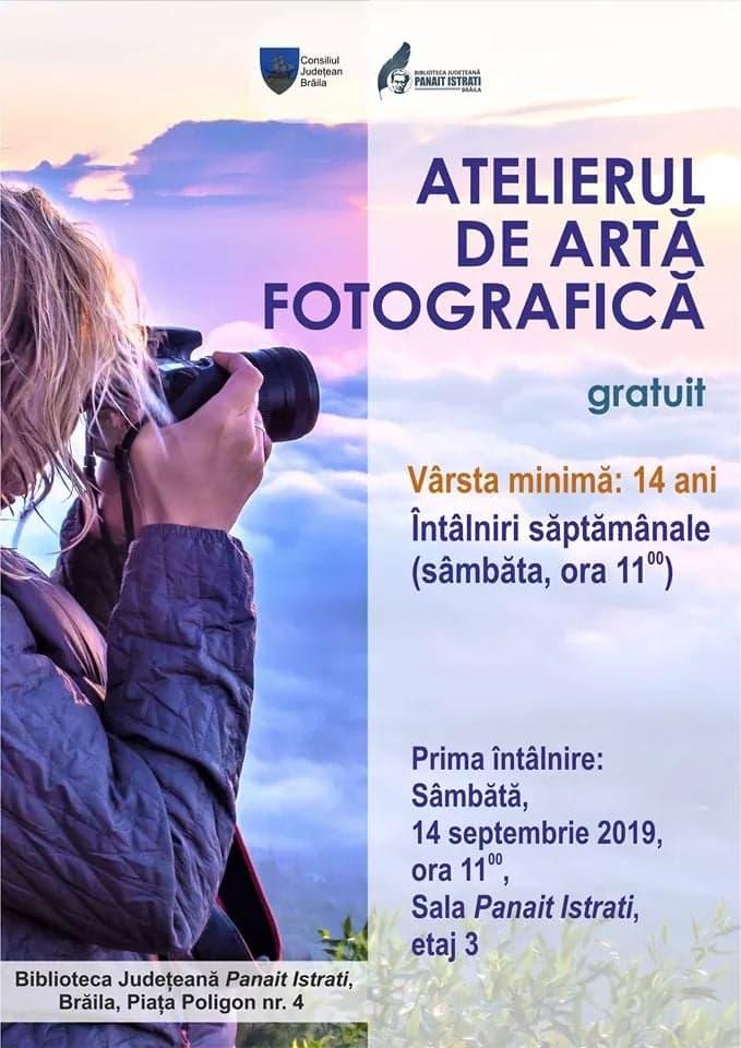 Poster - Atelierul de arta fotografica