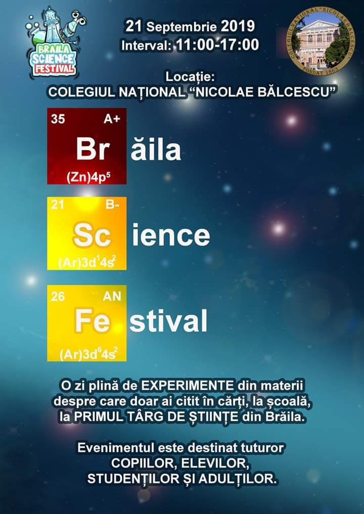 Brăila Science Festival