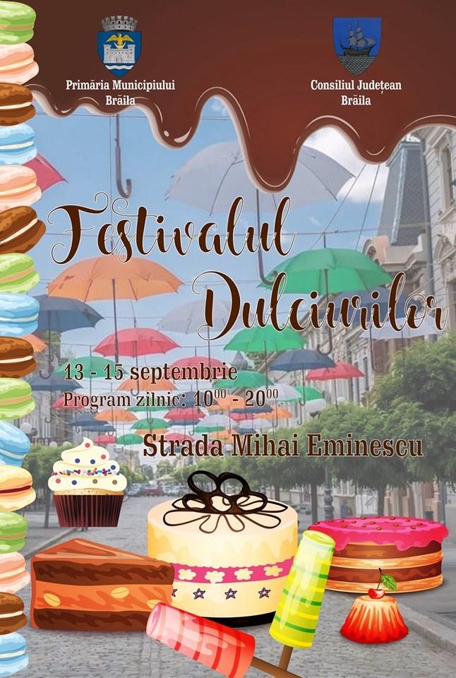 Poster - Festivalul Dulciurilor