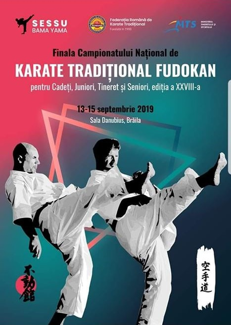 """Finala Campionatului Național de """"Karate Tradițional Fudokan"""""""
