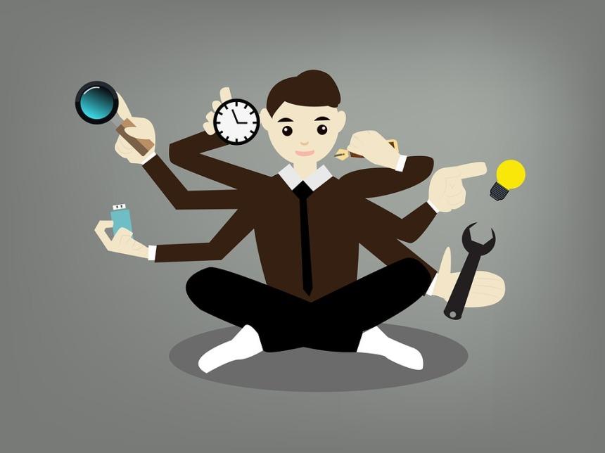 munca, multitasking