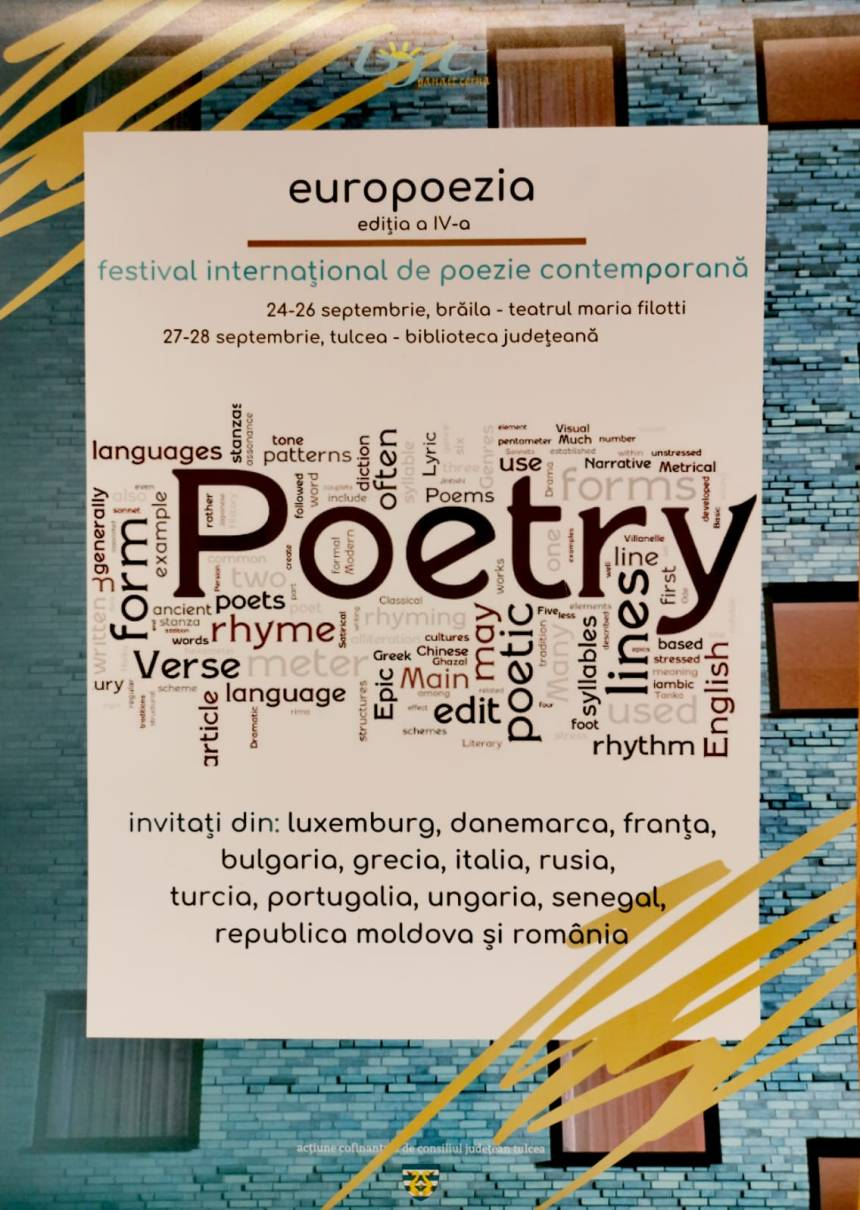 Poster - Europoesia, Poetry