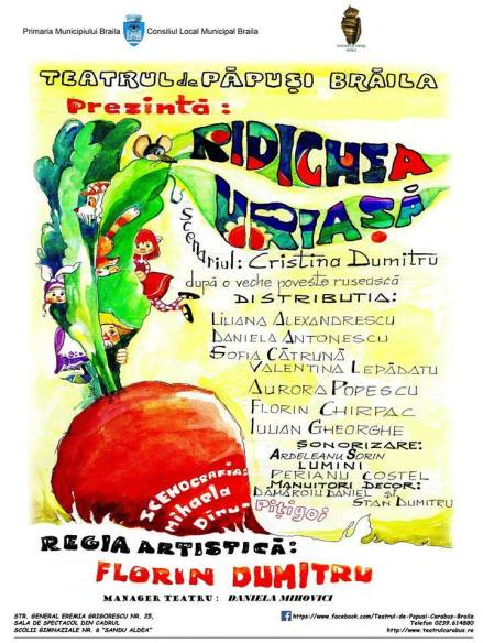 Poster - Ridichea uriasa