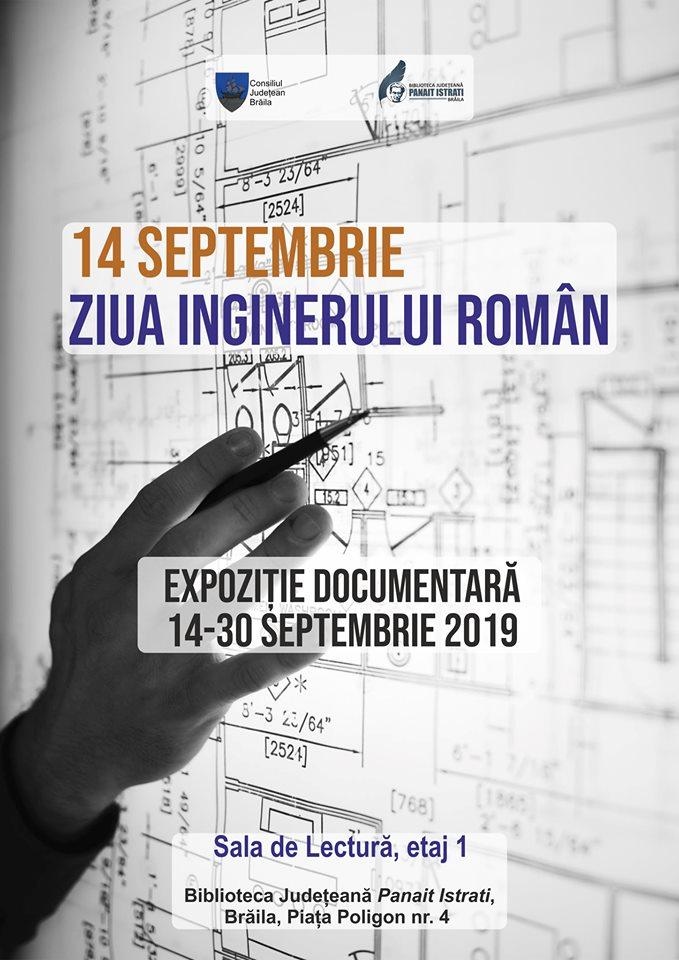 Poster - Ziua Inginerului Român