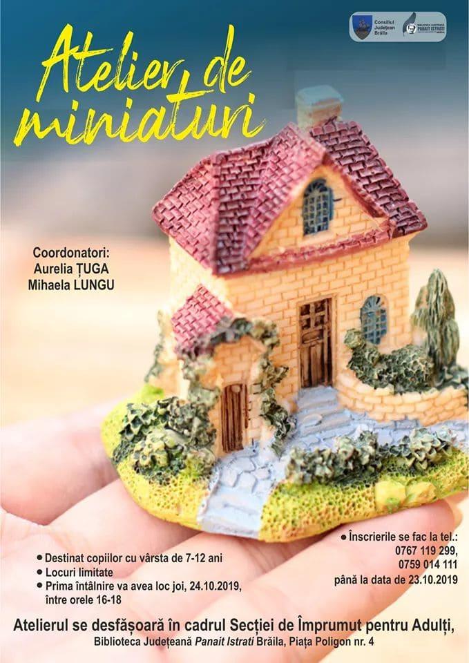 Atelier de miniaturi