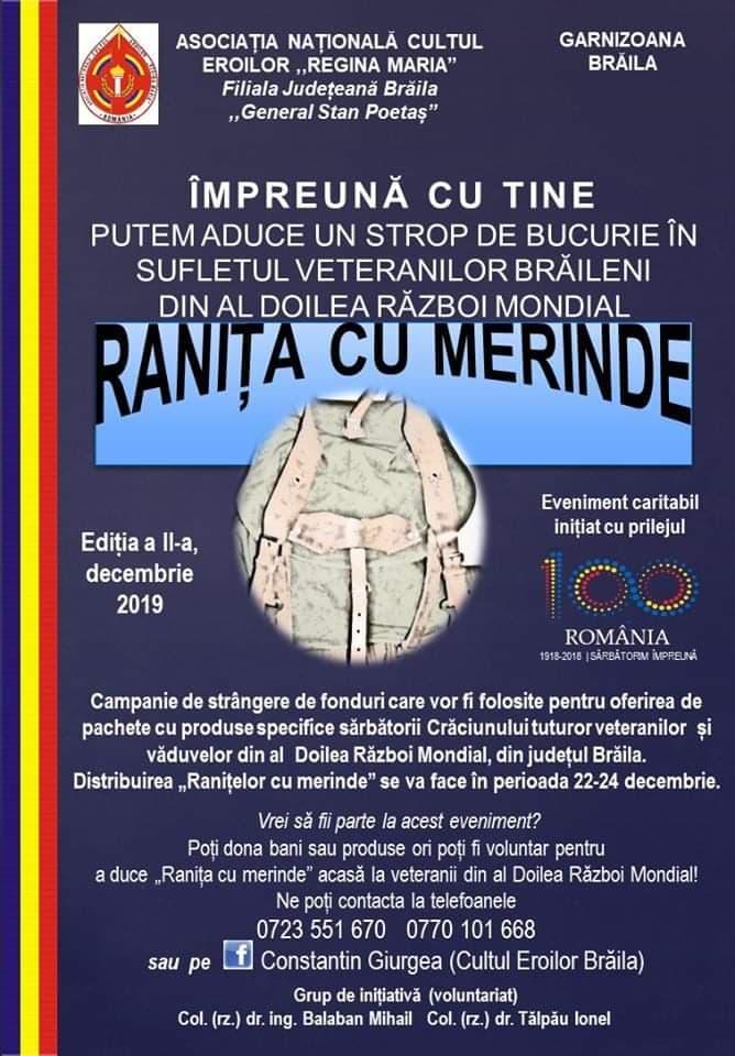 Poster - Ranița cu Merinde
