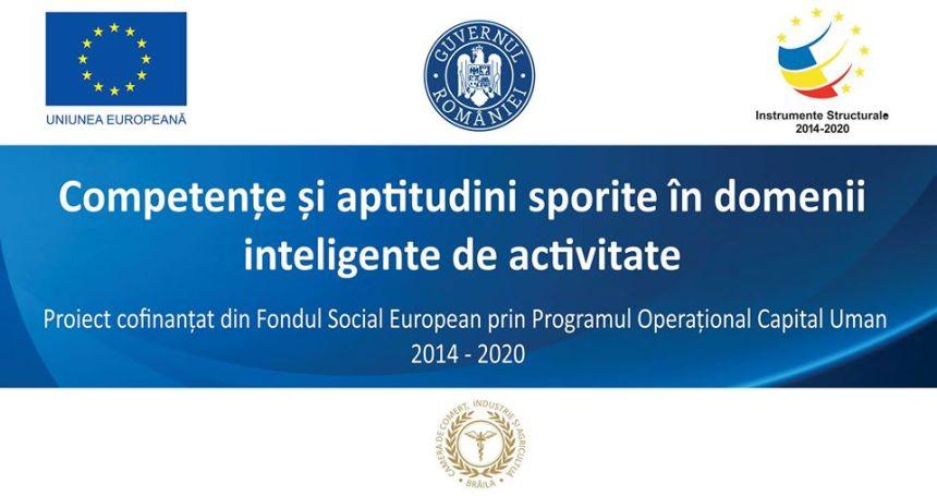 """Conferința de lansare a proiectului """"Competențe și aptitudini sporite în domenii inteligente de activitate"""".jpg"""