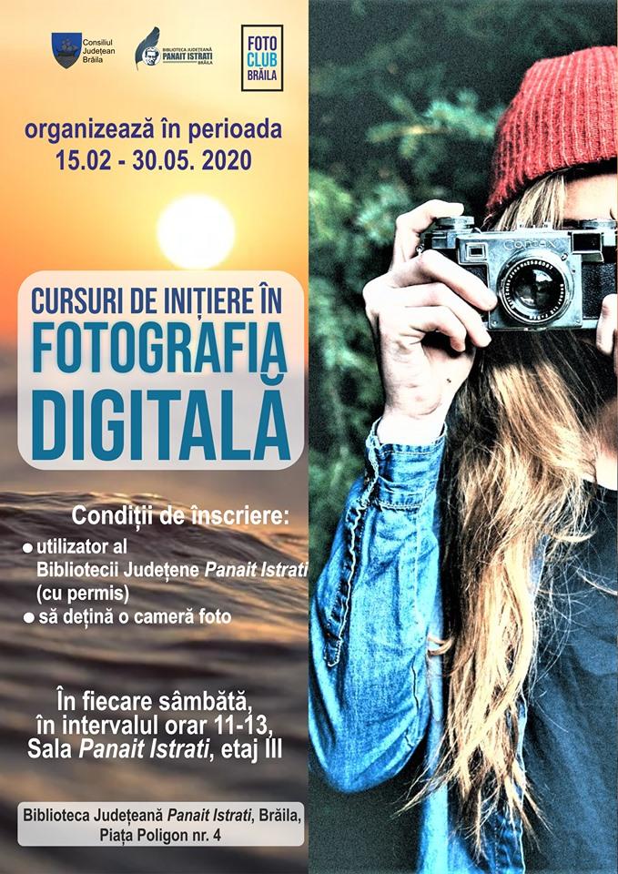 Cursul de Inițiere în fotografia digitală