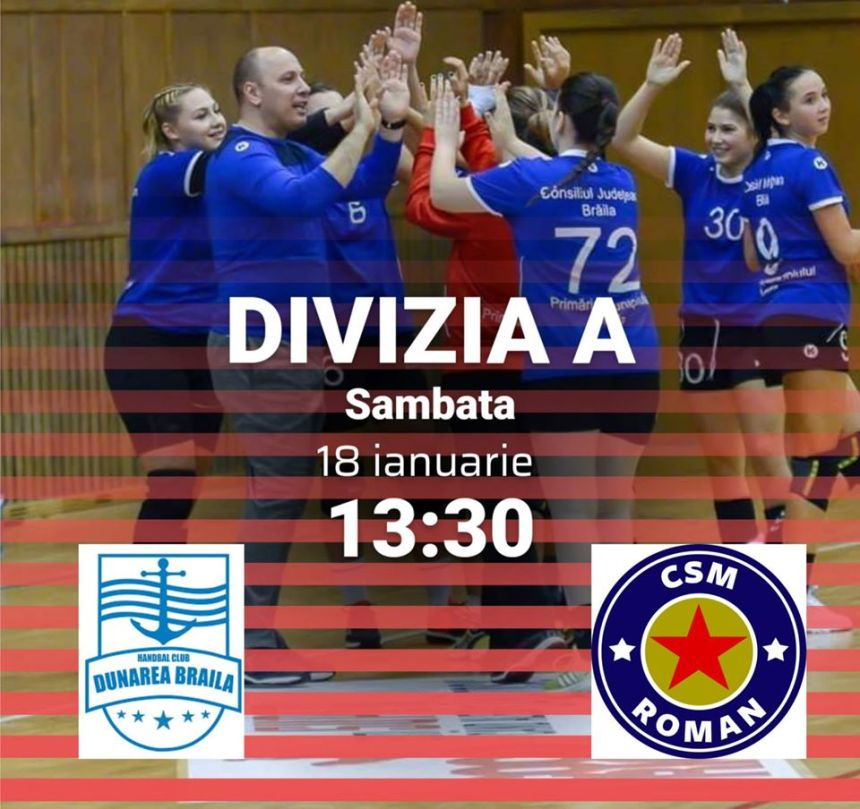 HC Dunărea Brăila 2 - CSM Roman