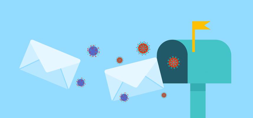 virus, posta