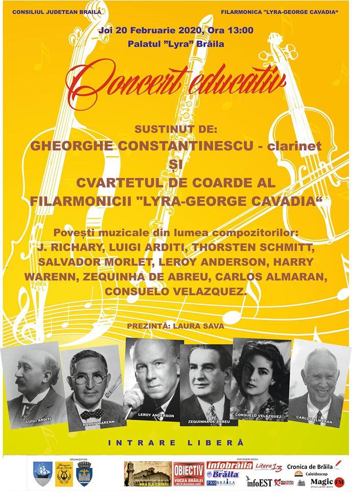 Concert educativ