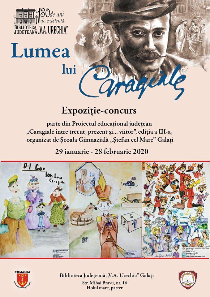 """""""Lumea lui Caragiale"""" - expoziție-concurs"""