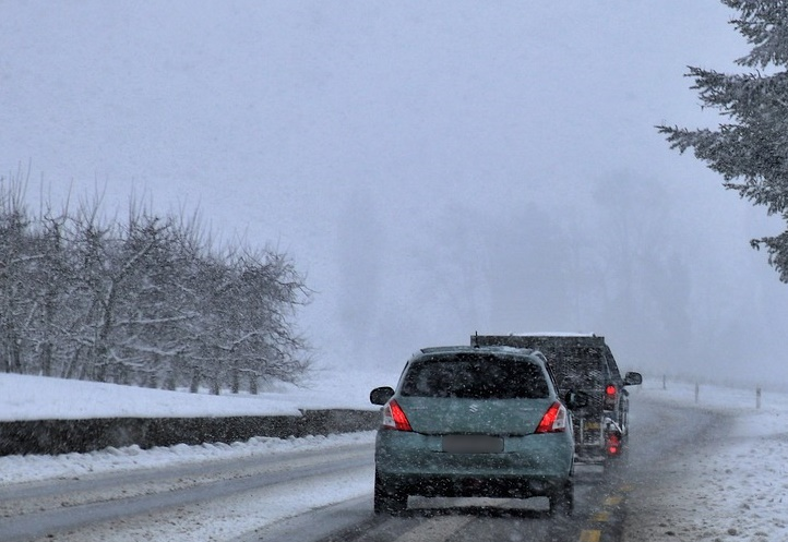 iarna masina