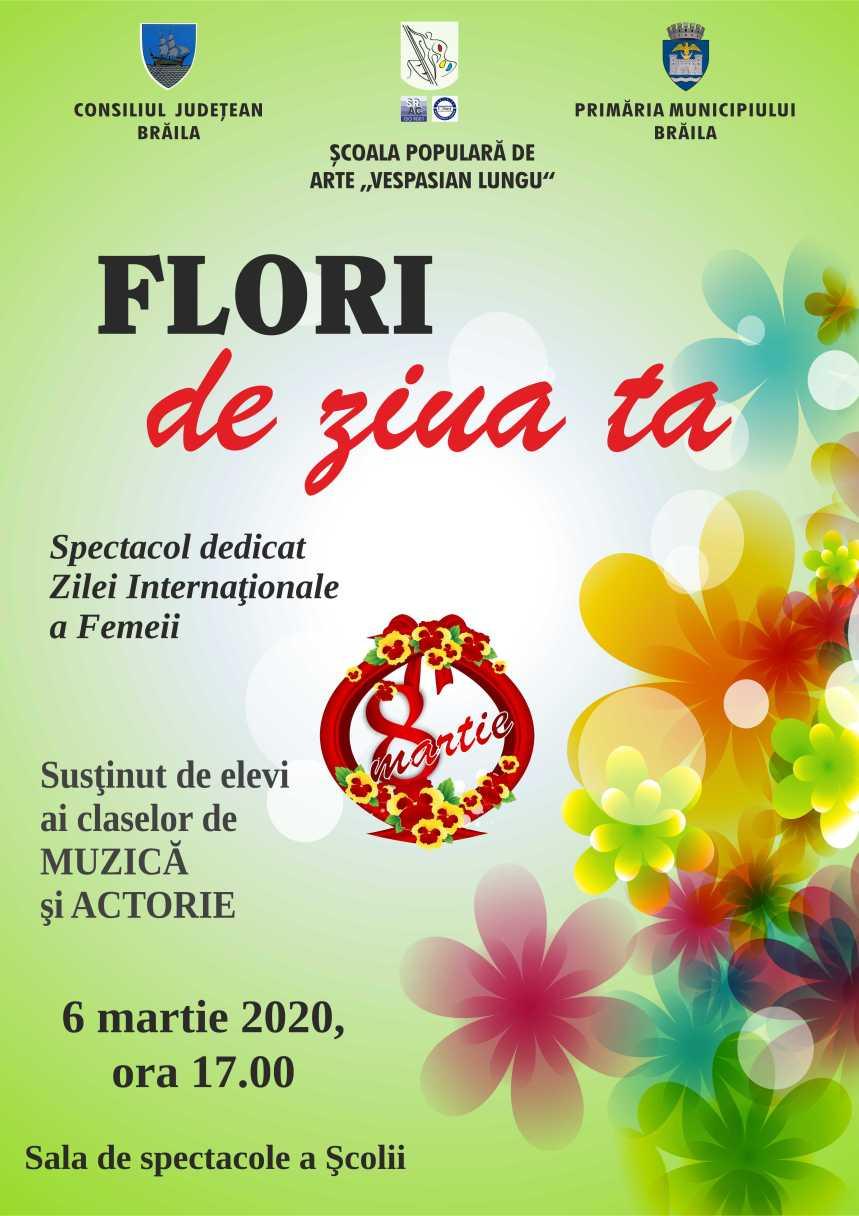 [SPA] Afis spectacol Ziua femeii 2020