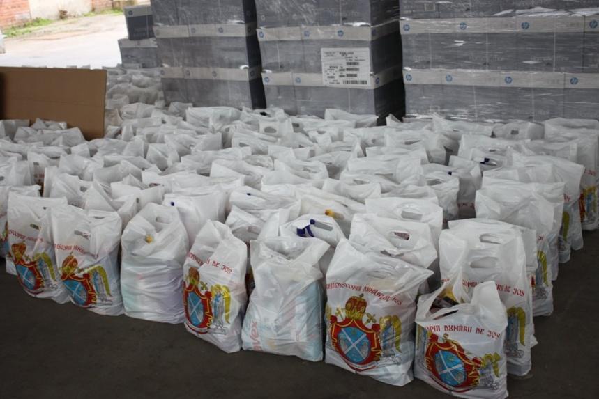 Arhiepiscopia Dunării de Jos vine în sprijinul spitalelor din Galaţi şi Brăila, oferind materiale igienico-sanitare pentru personalul medical şi auxiliar