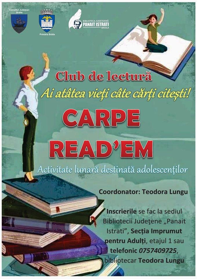 Club de lectură – CARPE READ'EM