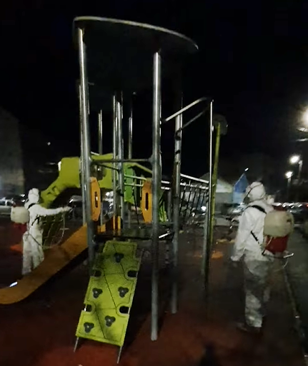 dezinfectare parcuri de joacă