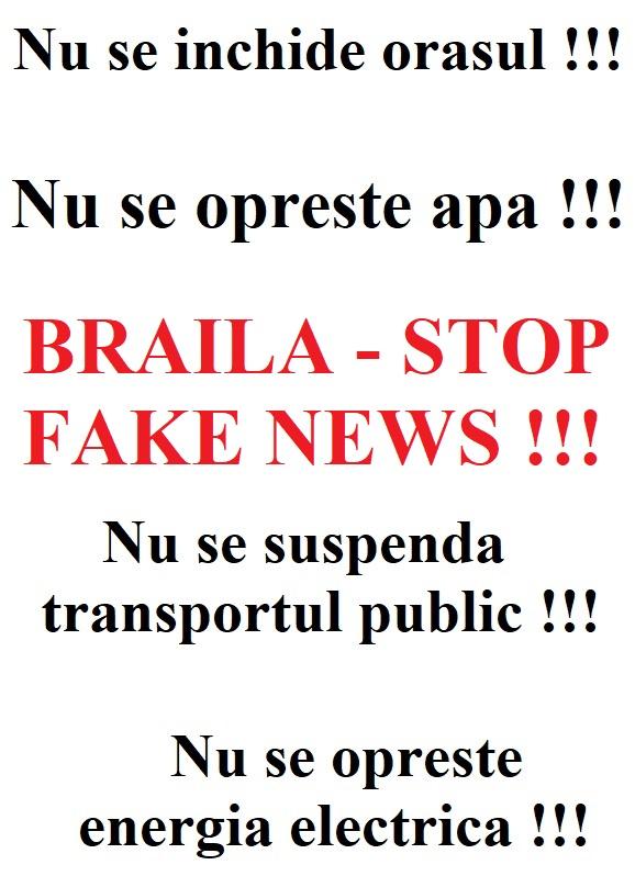 FII RESPONSABIL - NU DISTRIBUI FAKE NEWS!
