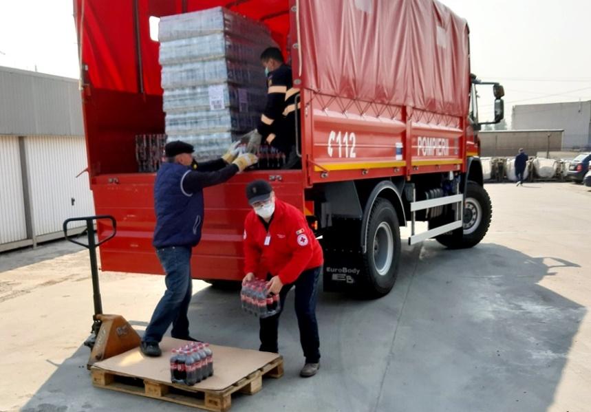 Acțiuni caritabile desfășurate în aceste zile de Crucea Roșie Română Filiala Brăila