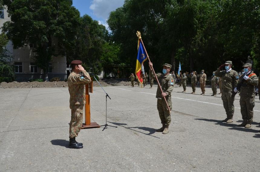 Ceremonial de predare-primire a comenzii la Batalionului 72 Geniu General Constantin Savu (6)