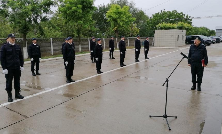 Inspectoratul de Jandarmi Judetean Braila, Juramant Militar
