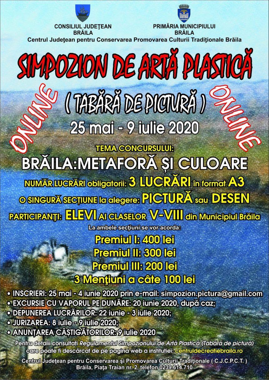 Poster - Braila Metafora si culoare