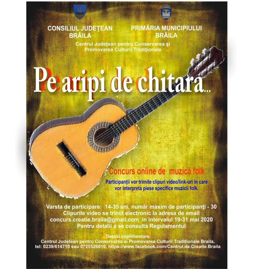 Poster - Pe aripi de chitara…