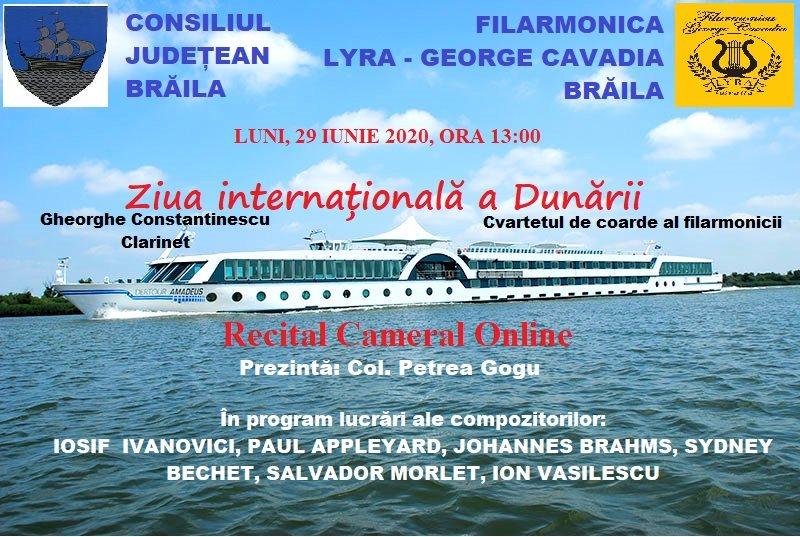 Afis - Ziua Internationala a Dunarii
