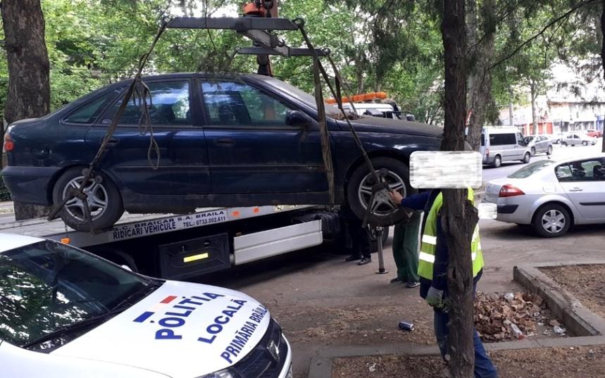 autoturisme abandonate, Politia Locala Braila (1)