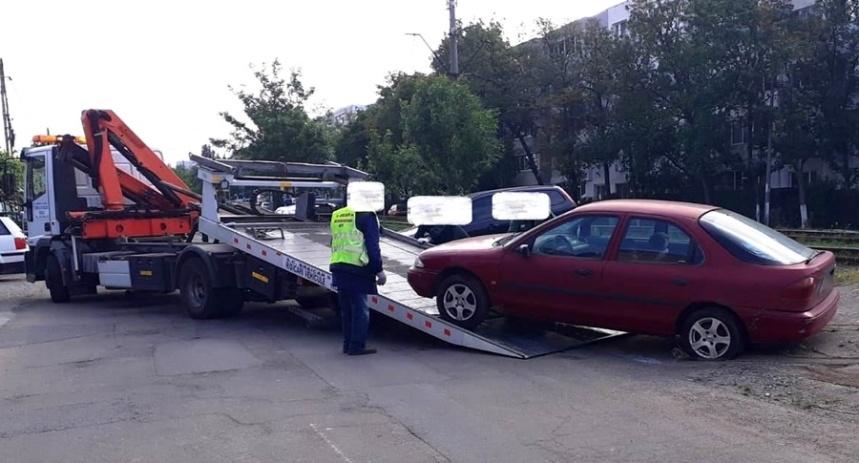 autoturisme abandonate, Politia Locala Braila (2)