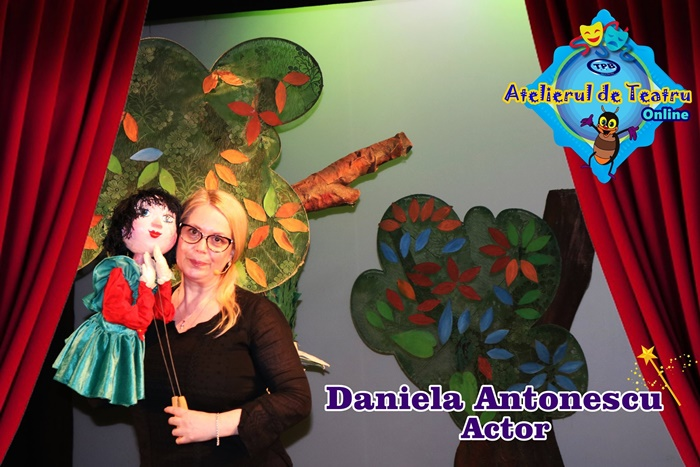 Joaca de-a Scufita Rosie,Teatrul de Papusi Braila, Daniela Antonescu