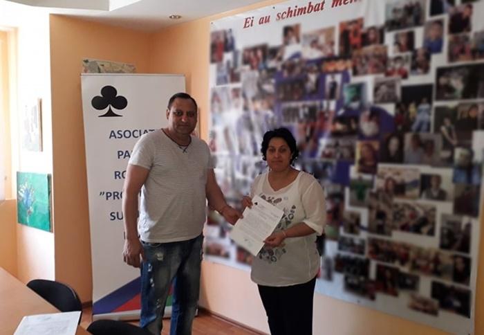 Margean Balaceanu Garicel, Campanie Educationala S.O.S. Copiii Romi