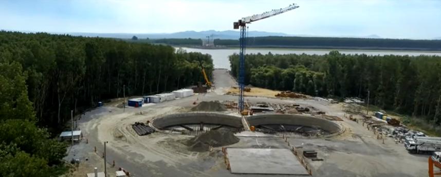 Pod suspendat peste Dunare Braila - Tulcea