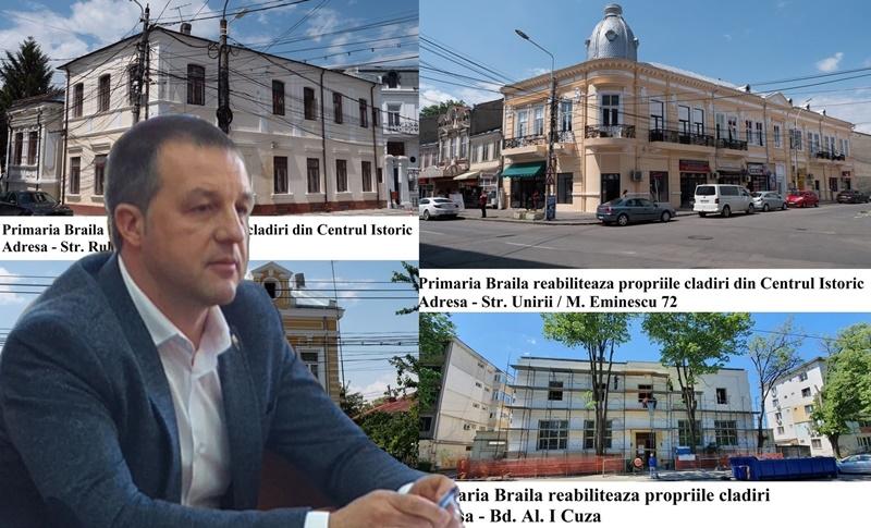 Viorel Marian Dragomir, reabilitare cladiri, primarie