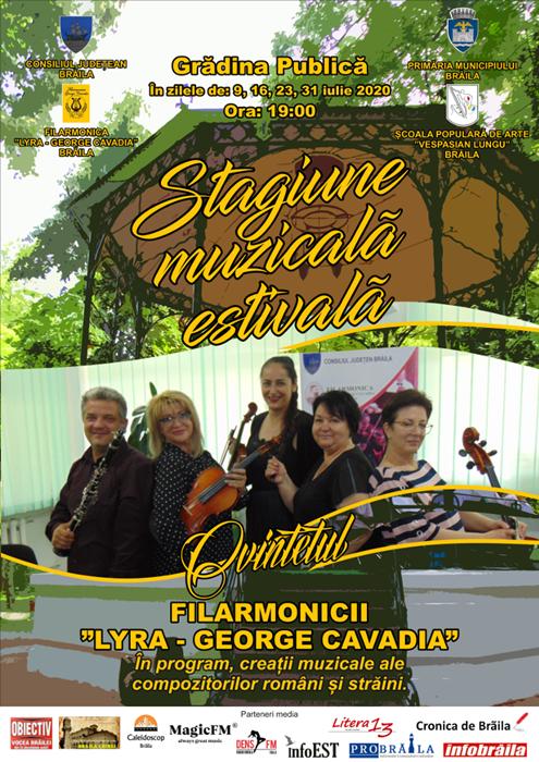 Afis - Stagiune muzicala estivala