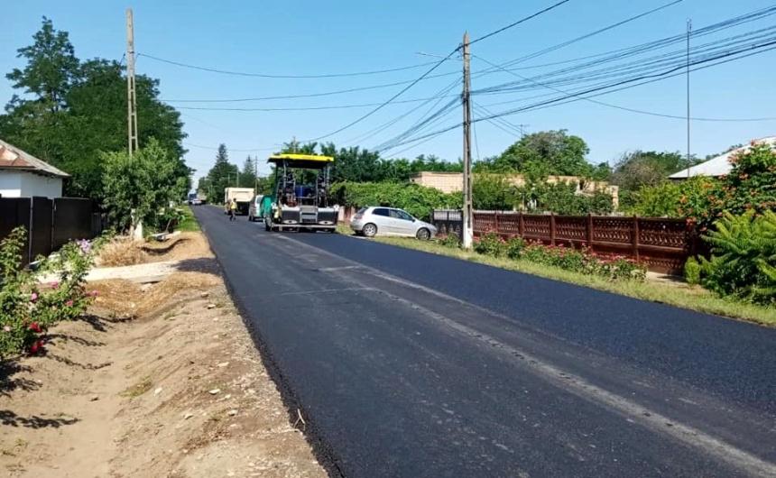 refacerea infrastructurii rutiere, zona Ramnicelu