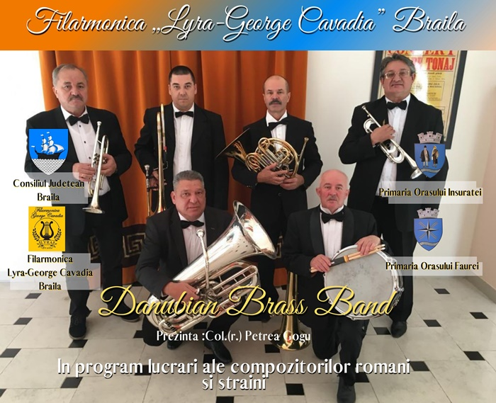 Afis - Danubian Brass Band