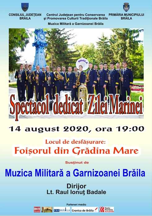 Afis - Spectacol dedicat Zilei Marinei